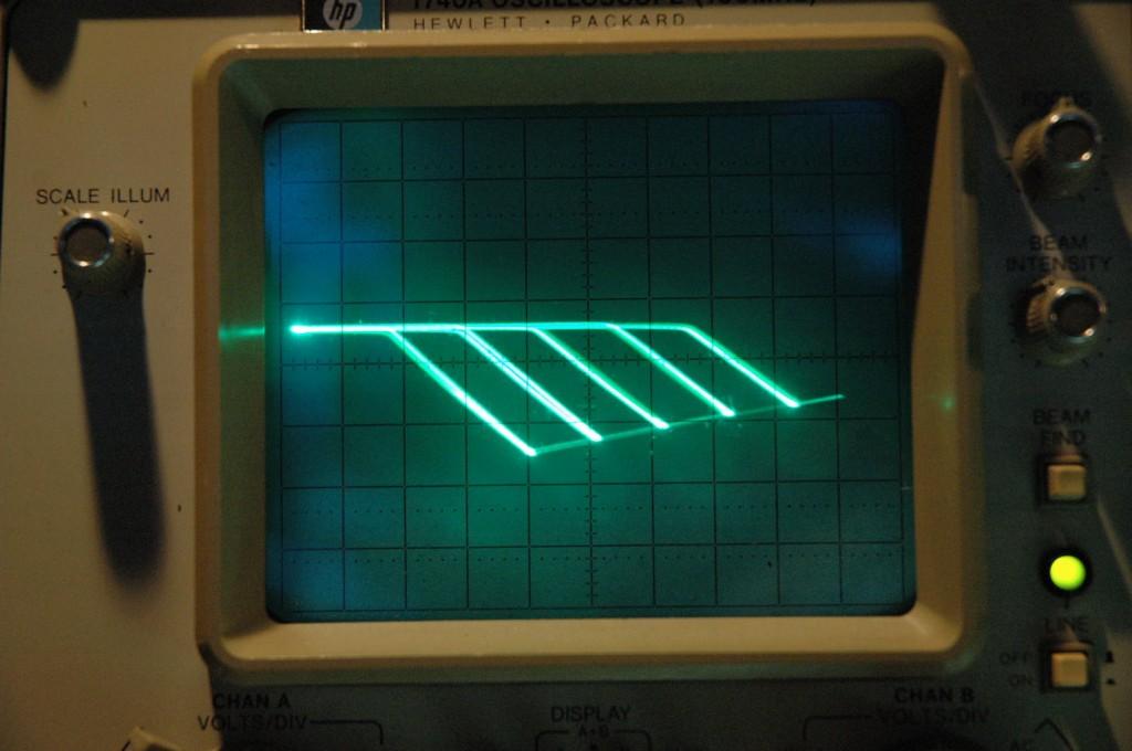 een actie plaatje van een transistor