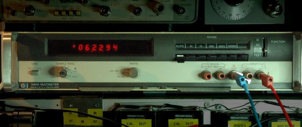HP3490a