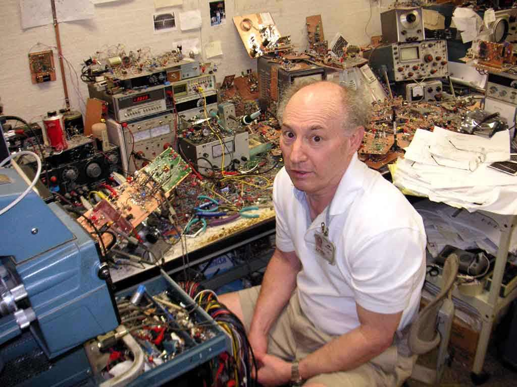 Jim Williams in his lab
