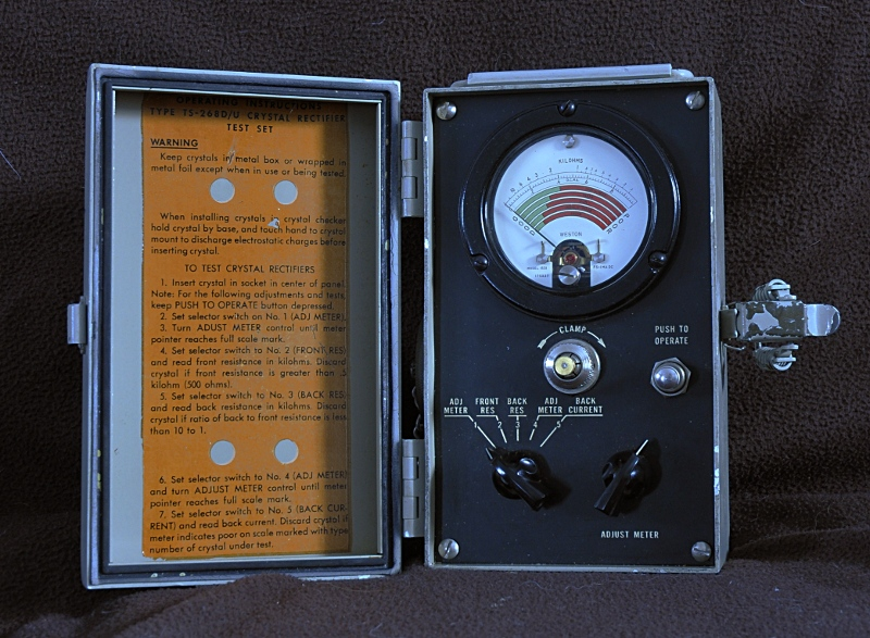TS-268 crystal receiver testset