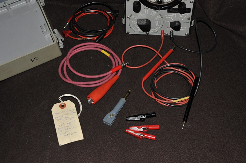 Testleads and adapters