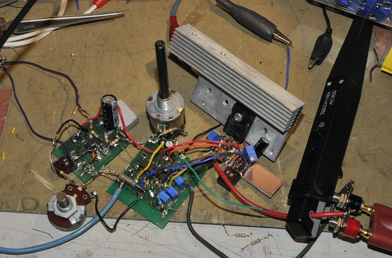 PCB while testing