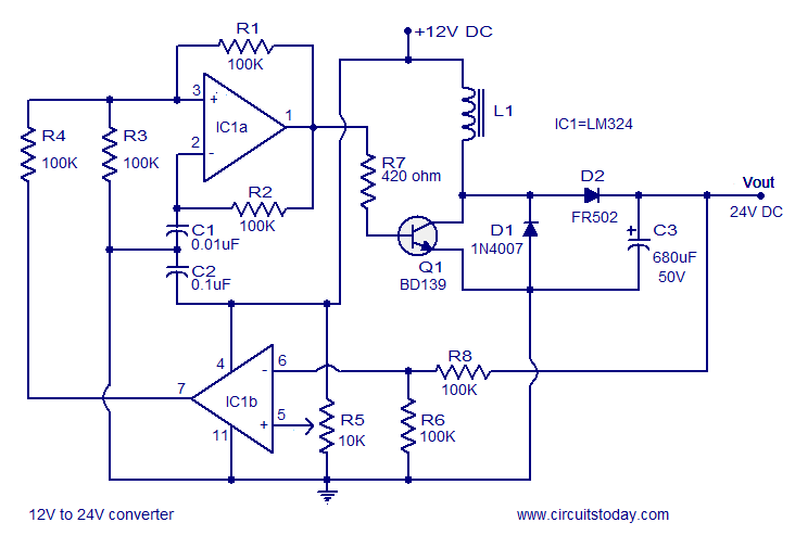the first schematic without the changes for the mosfet
