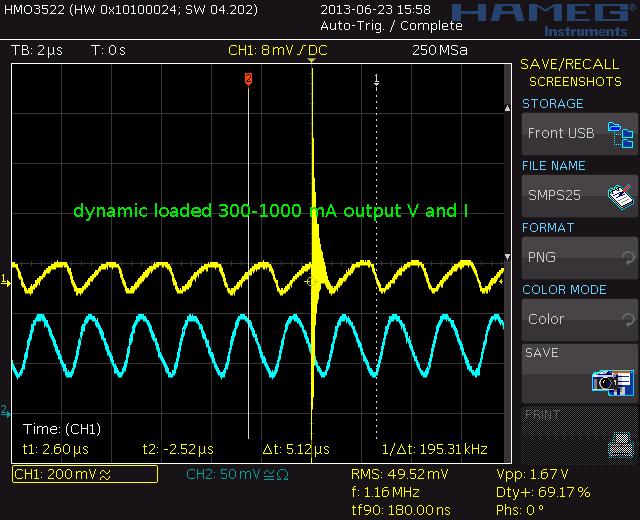 1A loadtest output