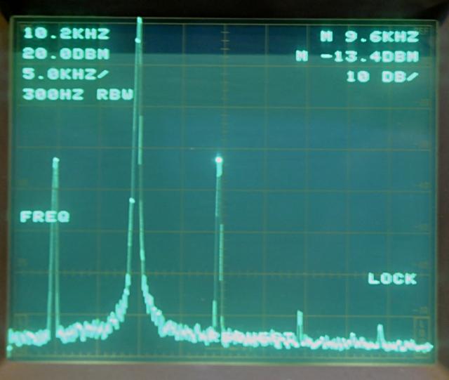 10 Khz and harmonics