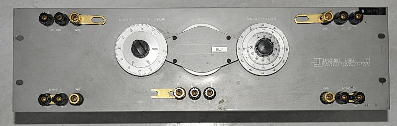 ESI 277 capacitance bridge