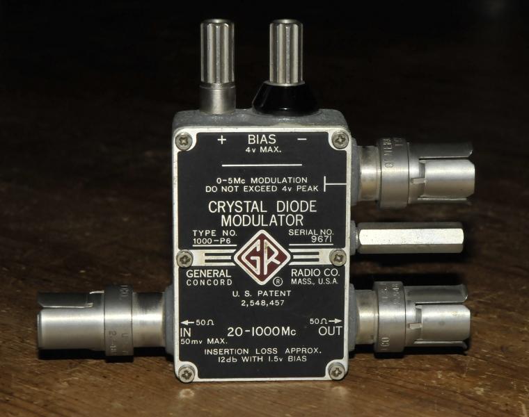 GR-1000 P6 modulator