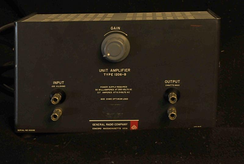 GR-1206 amplifier