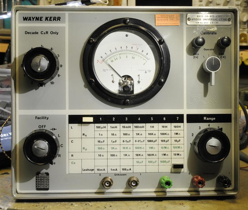 Using An Lcr Meter : Wayne kerr ct lcr meter pa tim s opvangtehuis voor